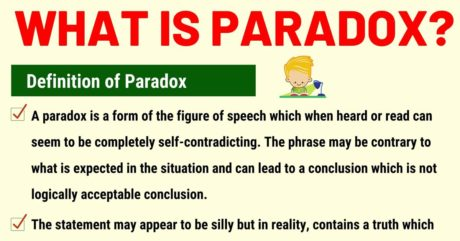 Paradox: Definition and Examples of Paradox in Speech and Literature