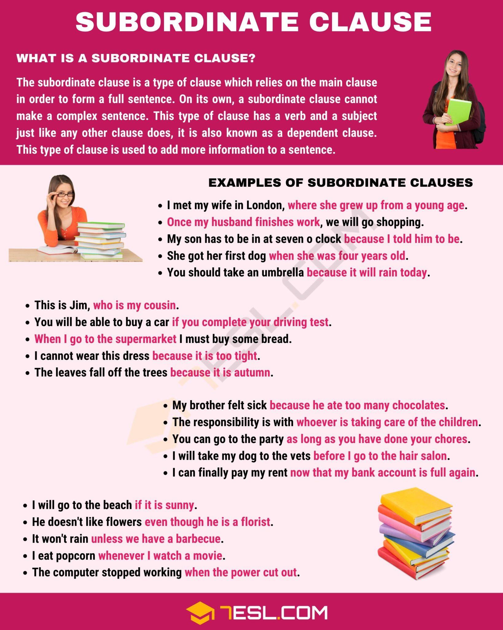 Subordinate Clause