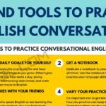 English Conversation: Useful Tips and Tools to Practice Conversations in English