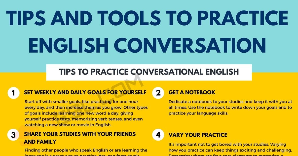 English Conversation | Useful Tips and Tools to Practice Conversations in English 2
