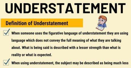 Understatement: Definition and Examples of Understatement in Speech & Literature