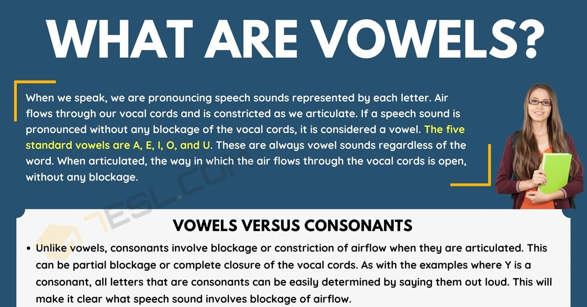 Vowels: What They Are and Why We Have Them 5