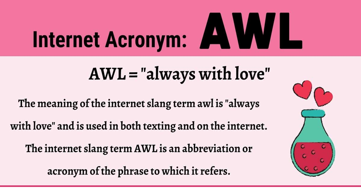 """AWL Meaning: How to Use the Trendy Term """"AWL"""" Correctly? 1"""