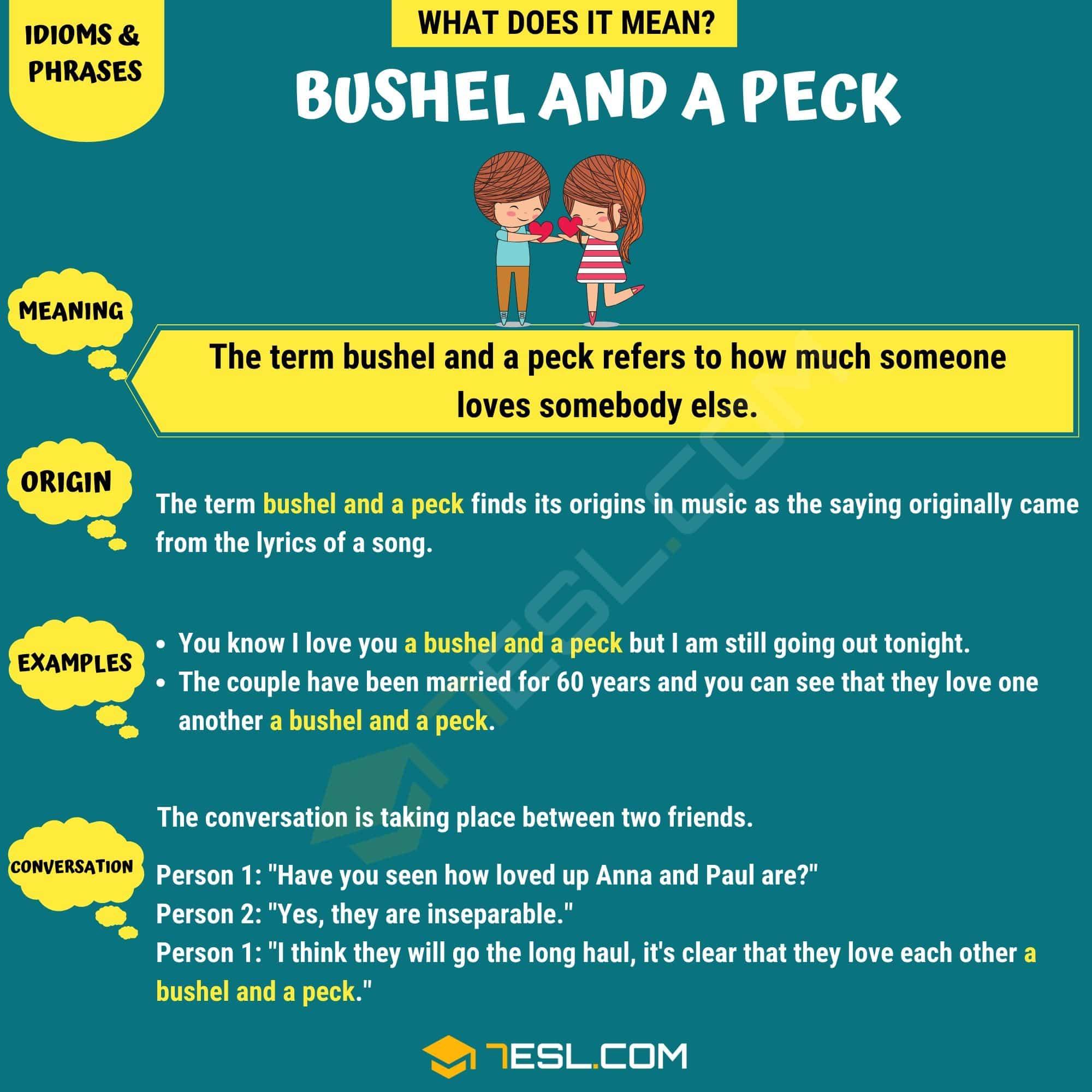 Bushel And A Peck