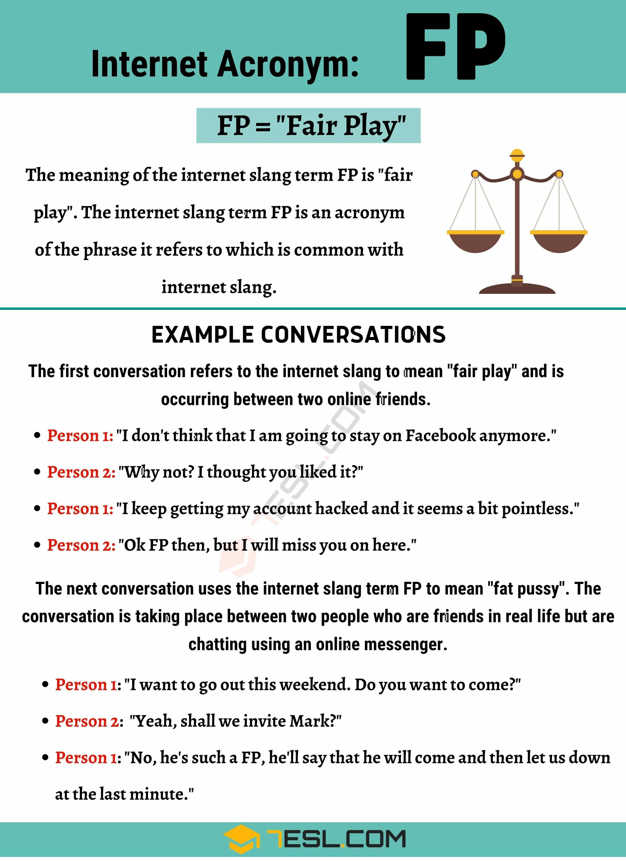 FP Meaning: What Does this Common Term Mean and Stand For? 2