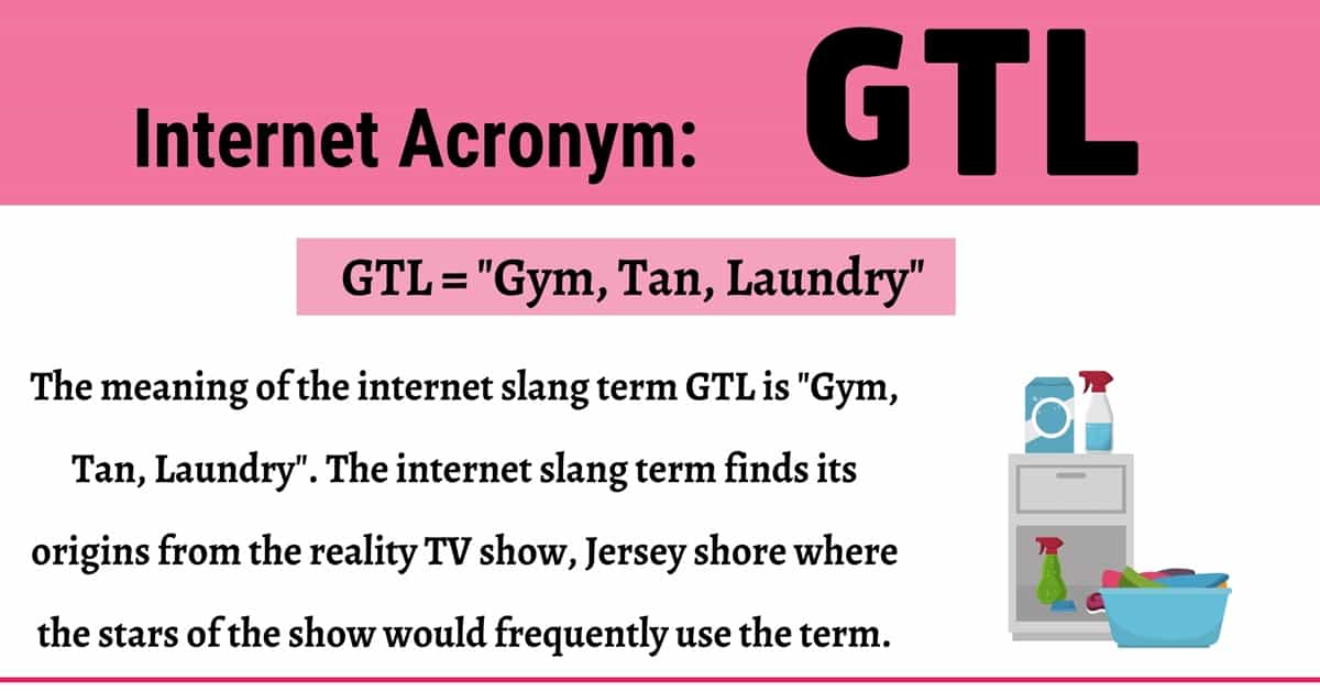 GTL Meaning: Do You Know How to Use this Useful Term Correctly? 1