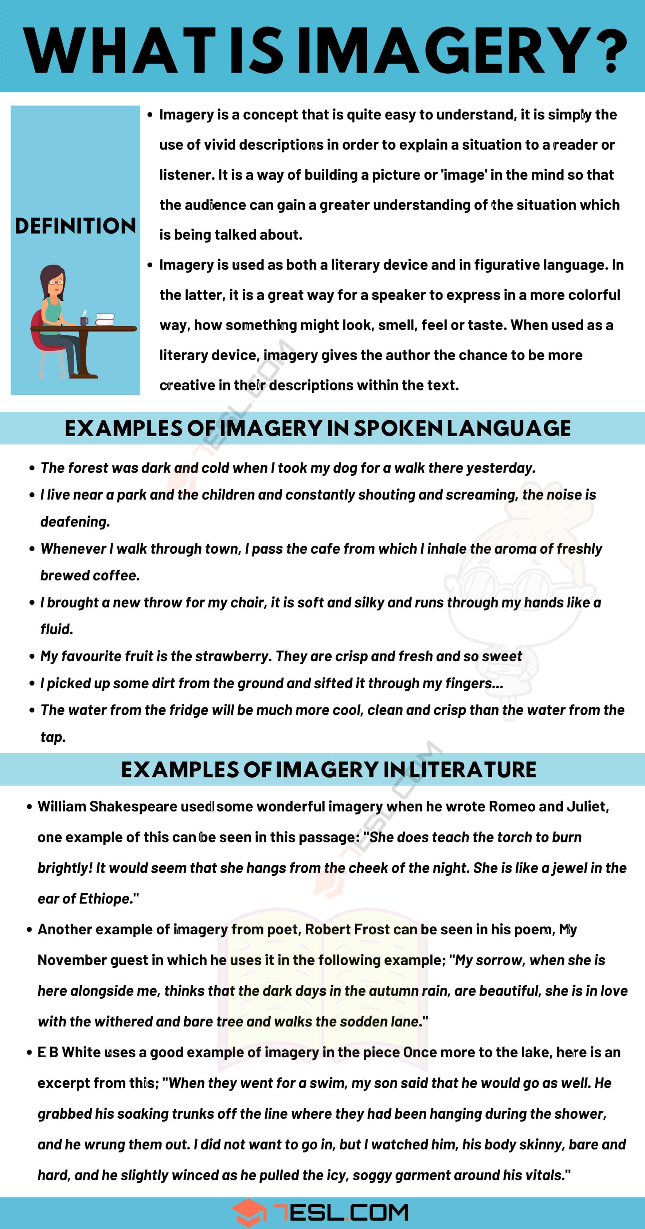 Imagery: Definition and Useful Examples of Imagery in Spoken Language and Literature