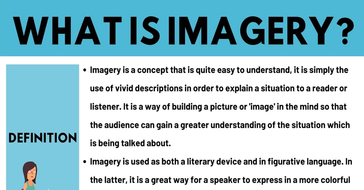 Imagery: Definition and Useful Examples of Imagery in Speech and Literature 1