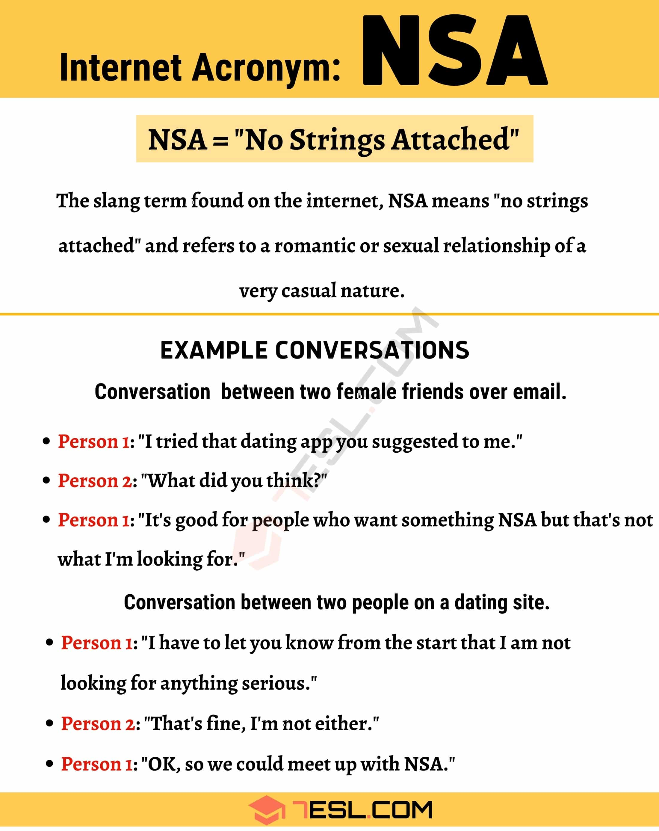 NSA Meaning: What Does this Term Mean and Stand for?