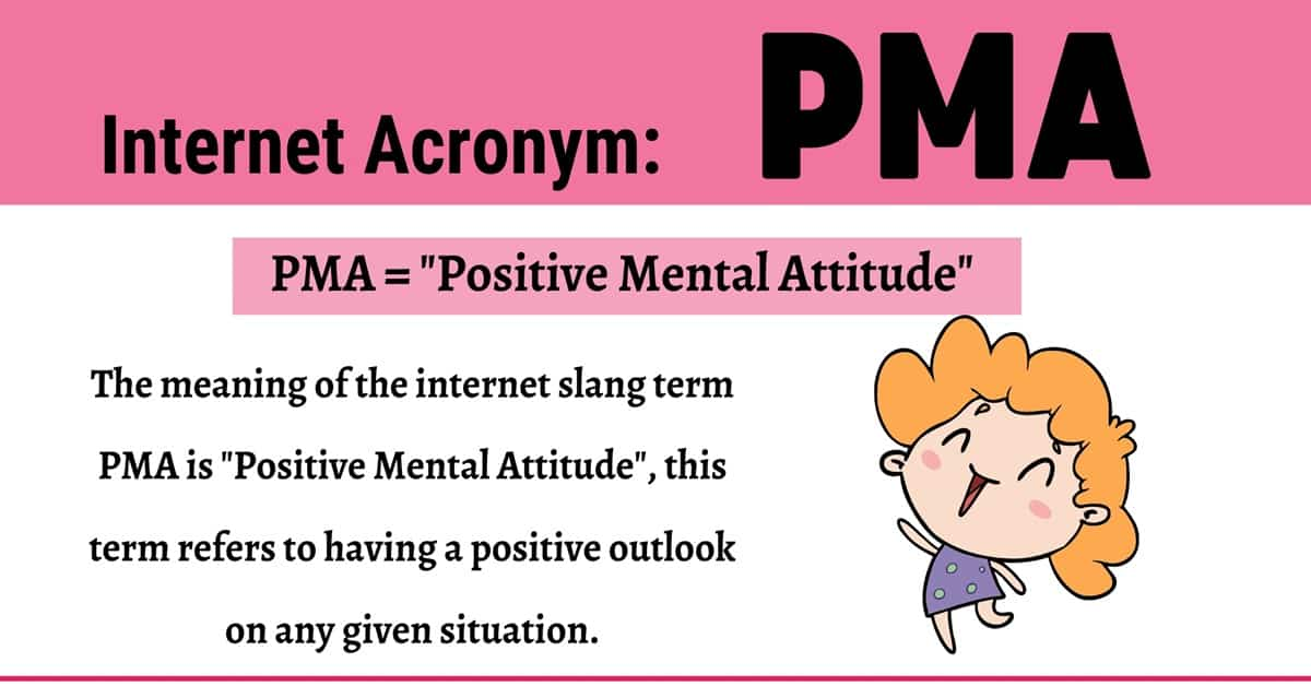 "PMA Meaning: Do You Know How to Use the Useful Acronym ""PMA"" Correctly? 1"