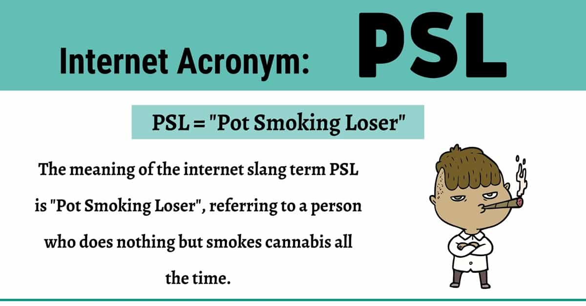"""PSL Meaning: How to Use the Useful Acronym """"PSL"""" Correctly? 1"""