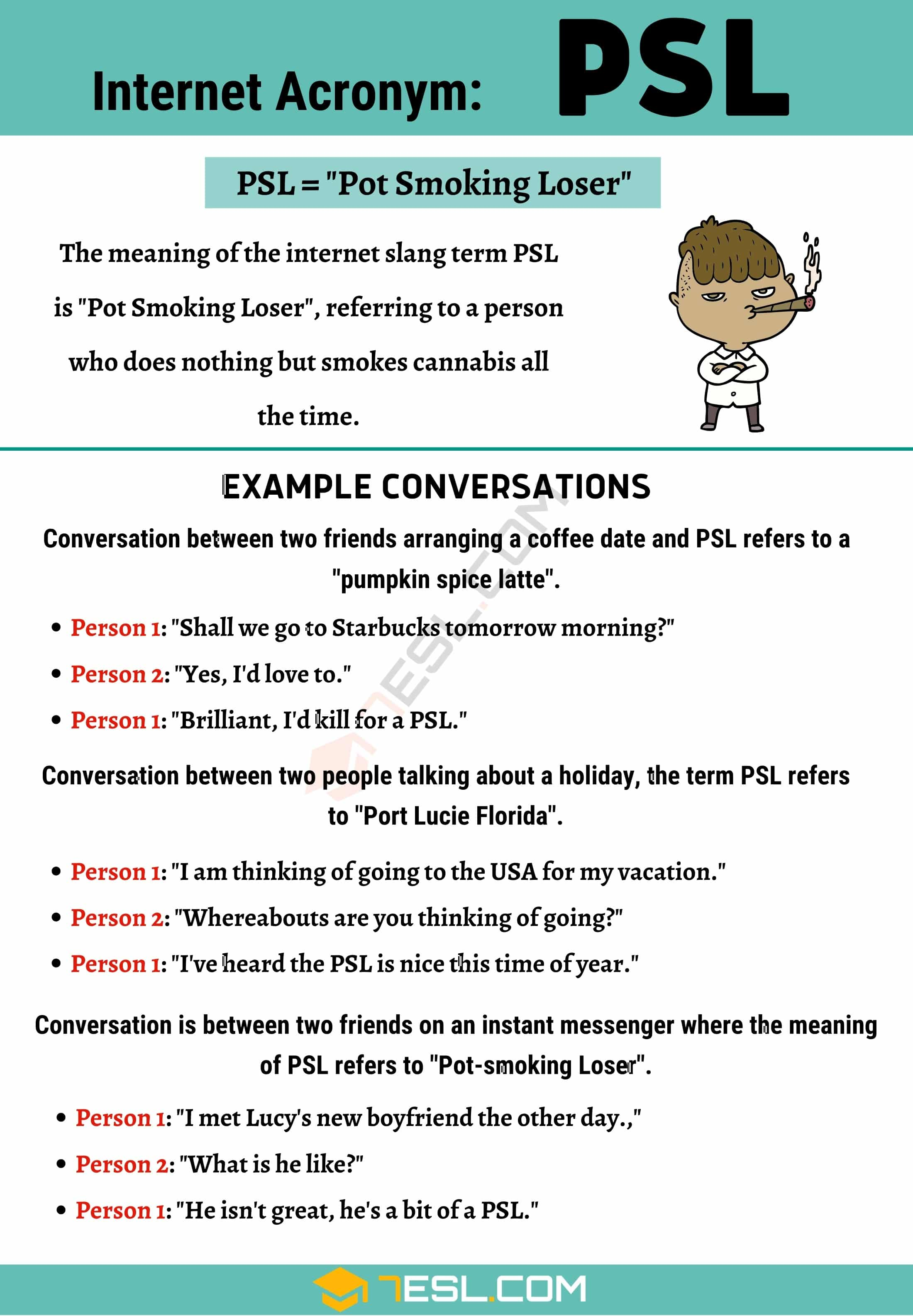 "PSL Meaning: How to Use the Useful Acronym ""PSL"" Correctly?"