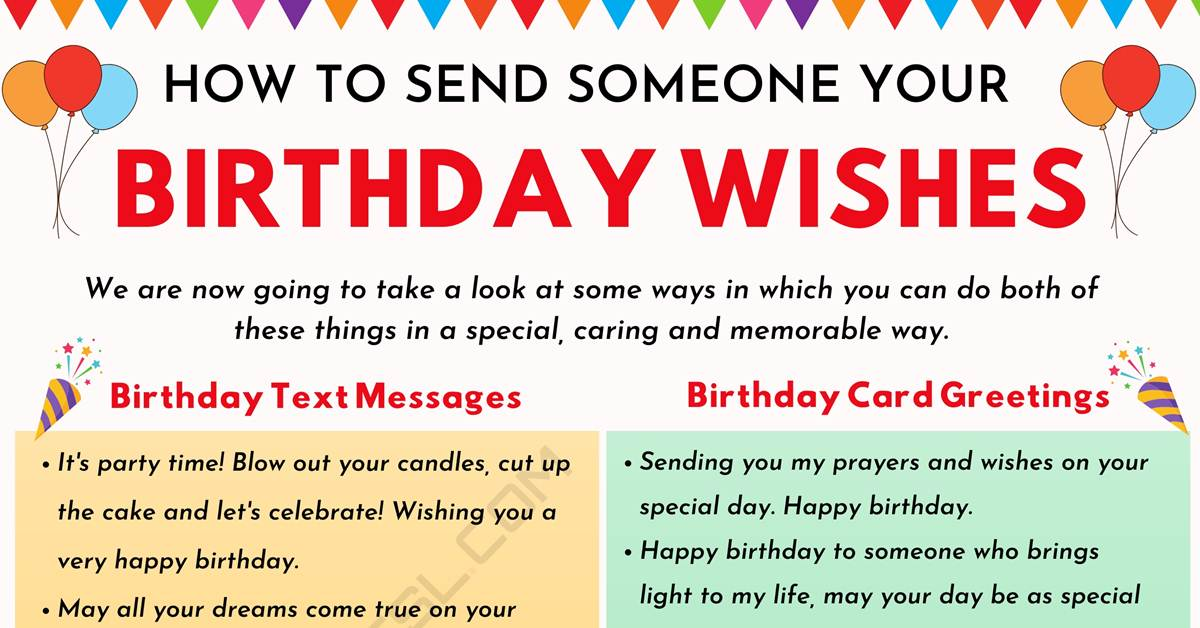 Birthday Wishes: 500+ Meaningful Happy Birthday Messages for Everyone 1