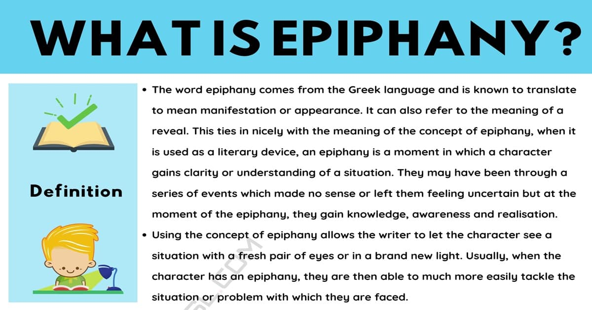 Epiphany: Definition and Examples in Spoken Language and Literature 6