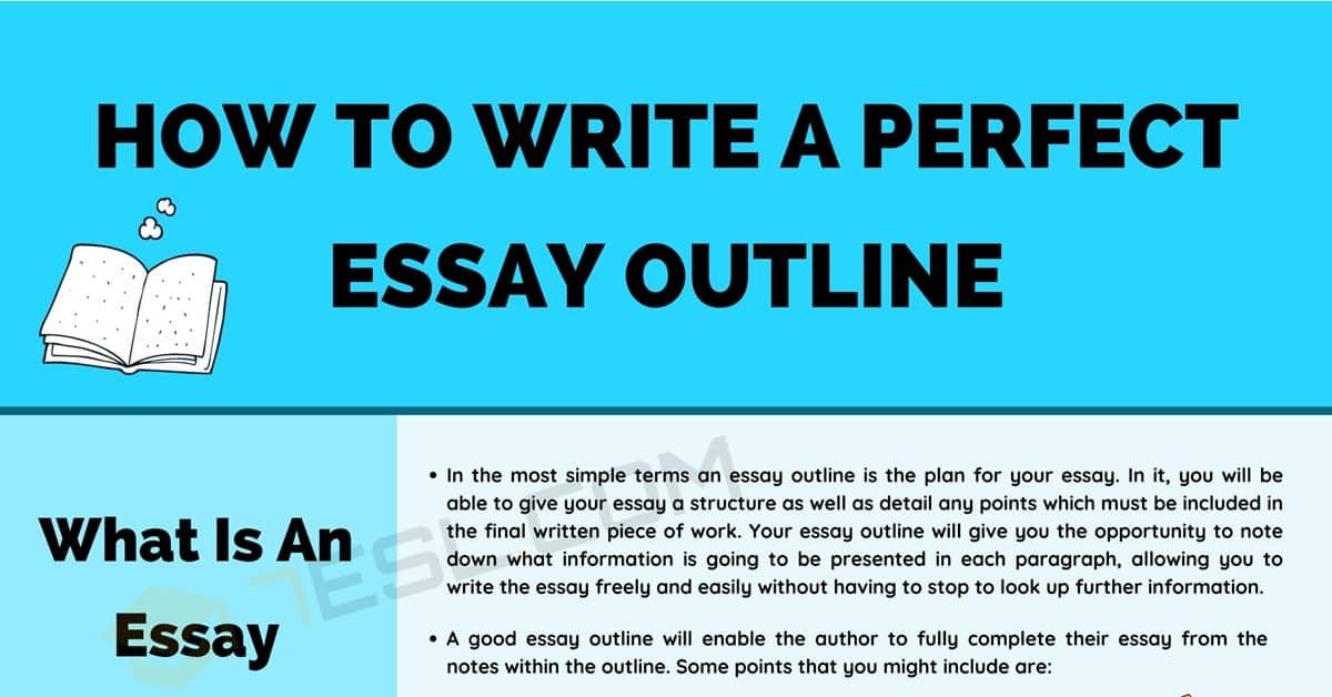 A Perfect Essay