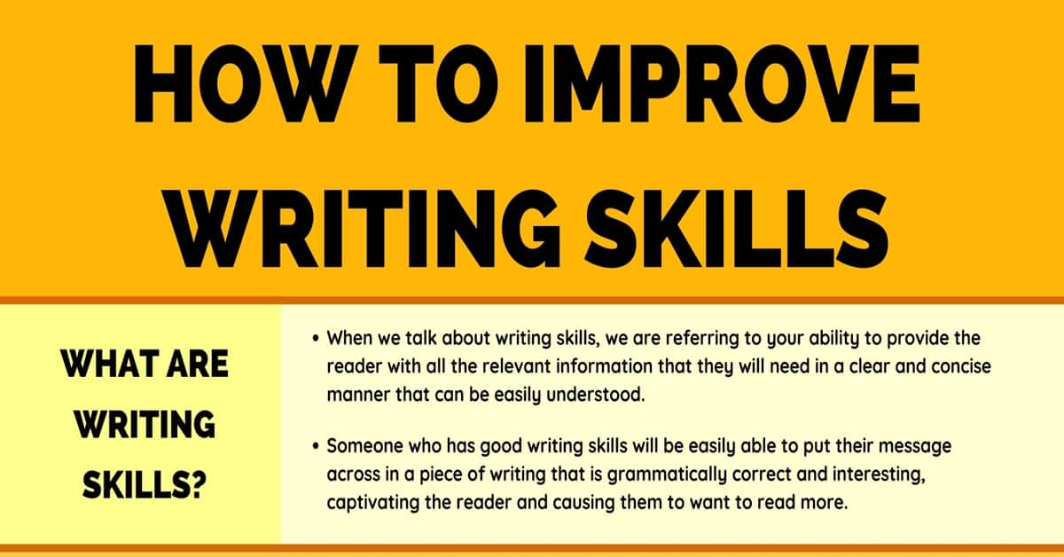 How to Improve Your Writing Skills with 10 Simple Tips 9