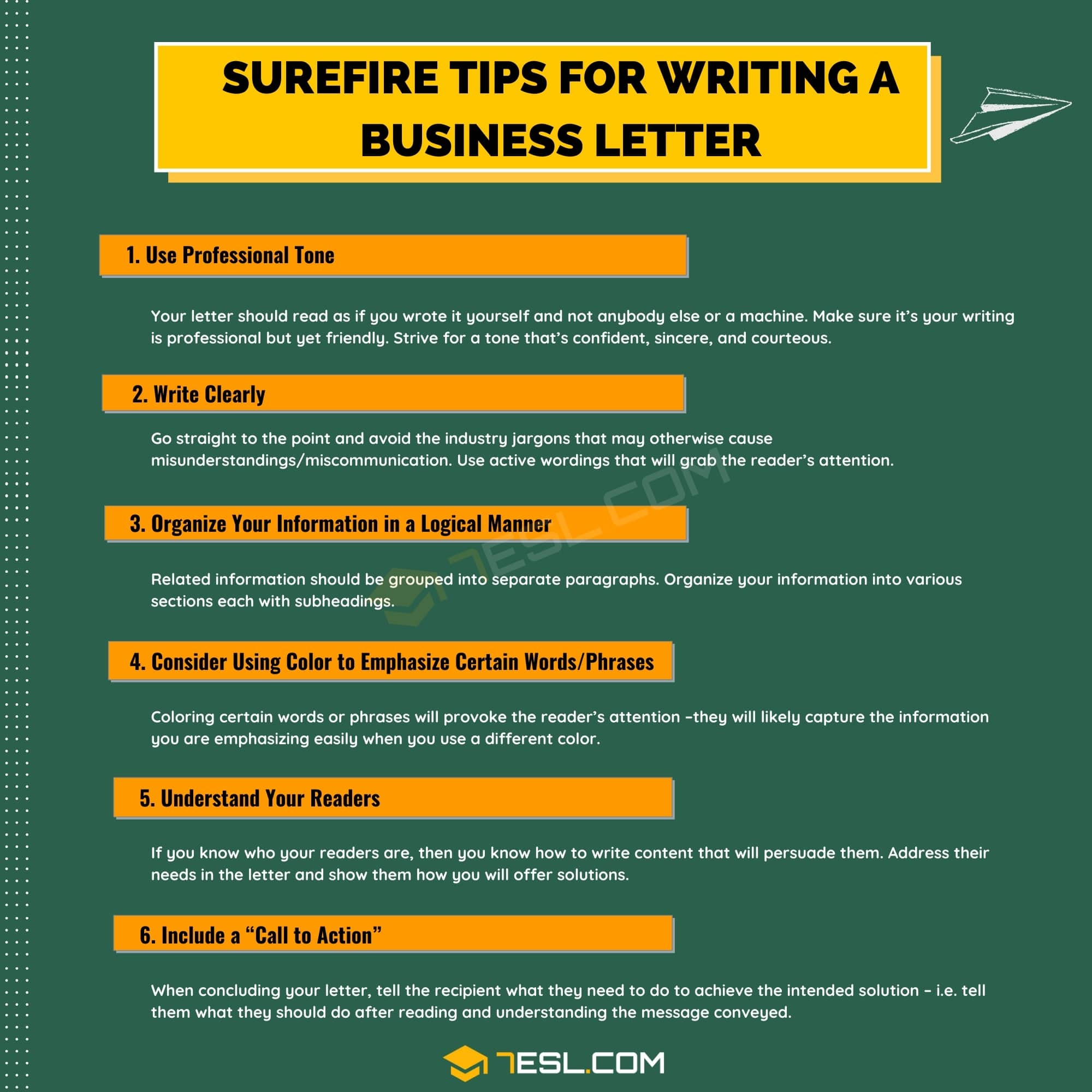 Surefire Tips for Writing a Business Letter