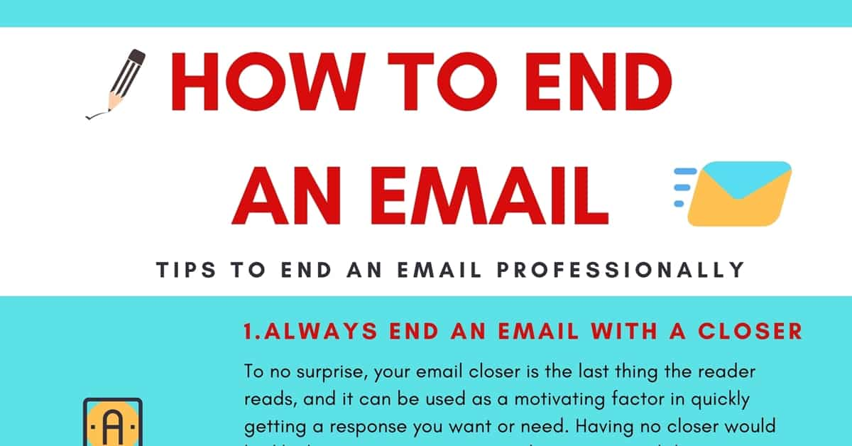 How to End an Email Professionally? Do's and Don'ts of Ending an Email 4