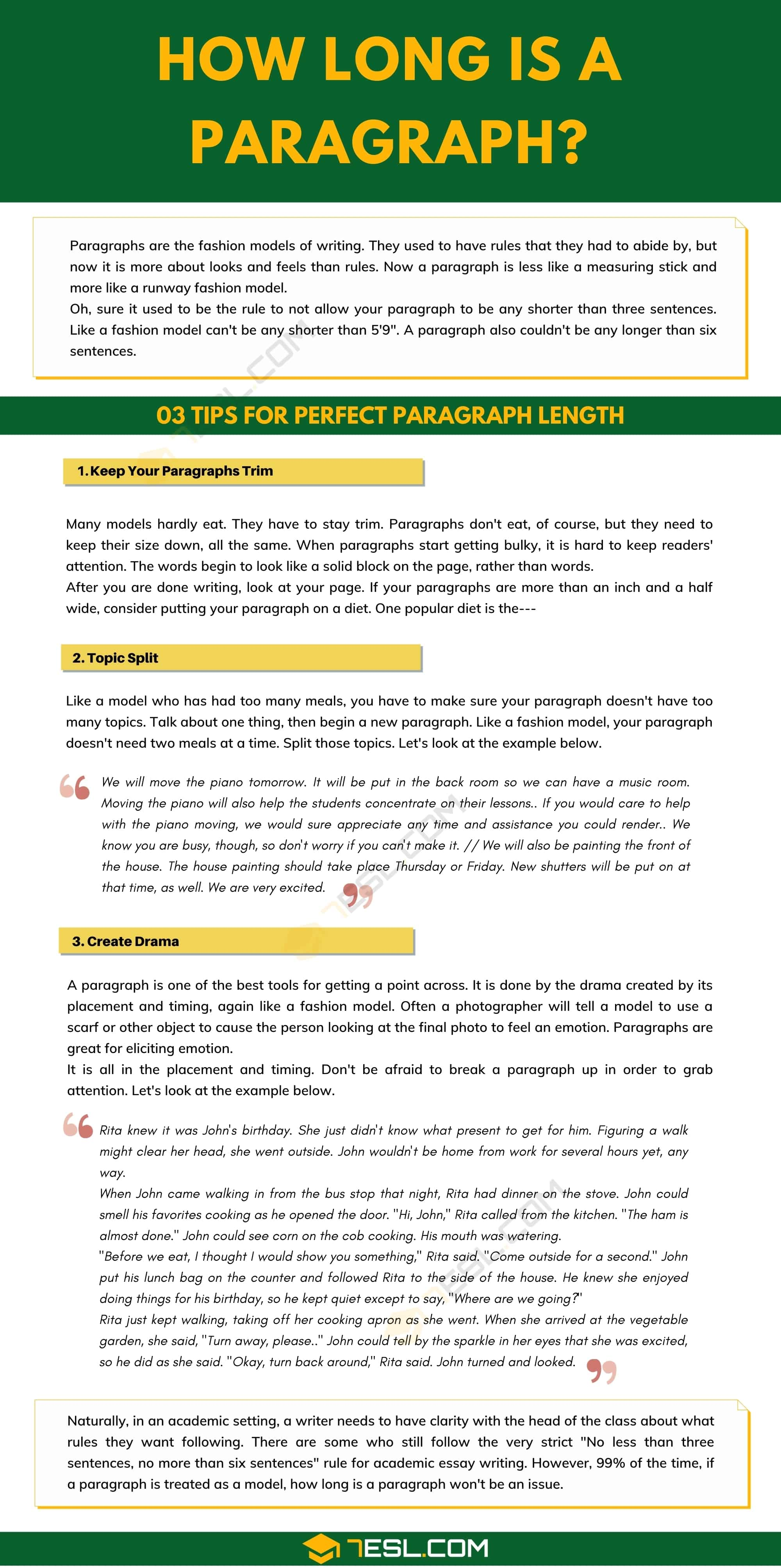 How Long Is A Paragraph? | 3 Useful Tips for Perfect Paragraph Length