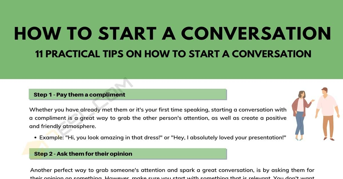 11 Practical Tips on How to Start a Conversation 5