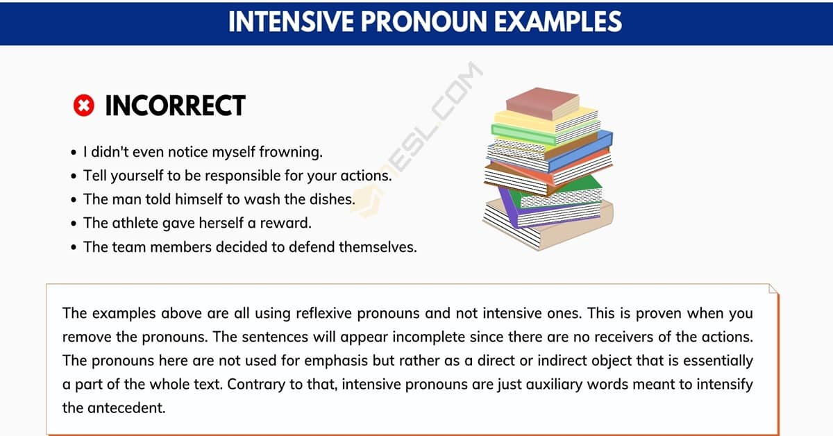 Intensive Pronoun: Important Rules and Examples 1