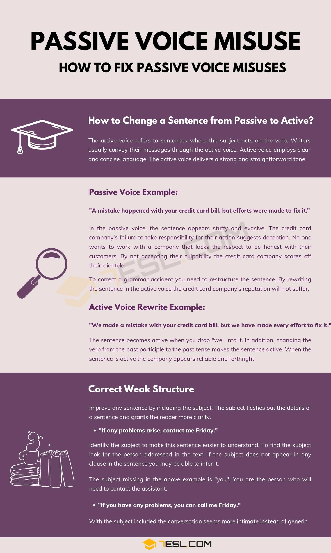 Passive Voice Misuse
