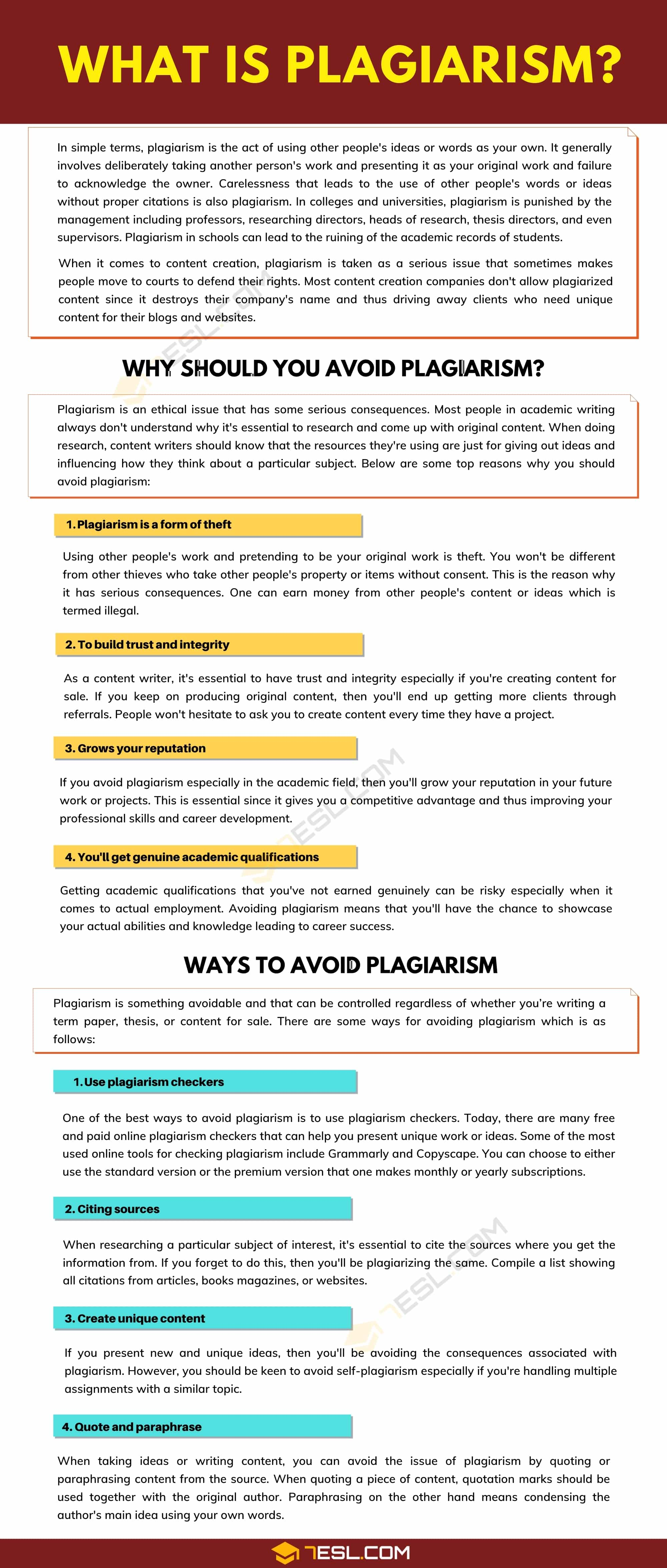 What Is Plagiarism? | Definition & Useful Tips to Avoid Plagiarism