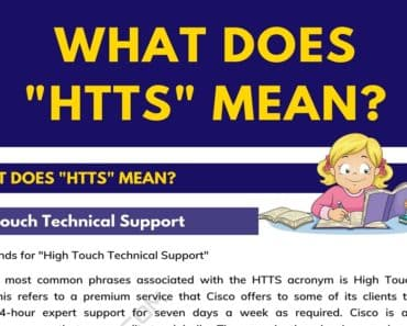 """HTTS"" Meaning 