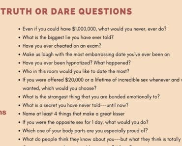 Truth or Dare! Great Examples of Truth or Dare Questions 2