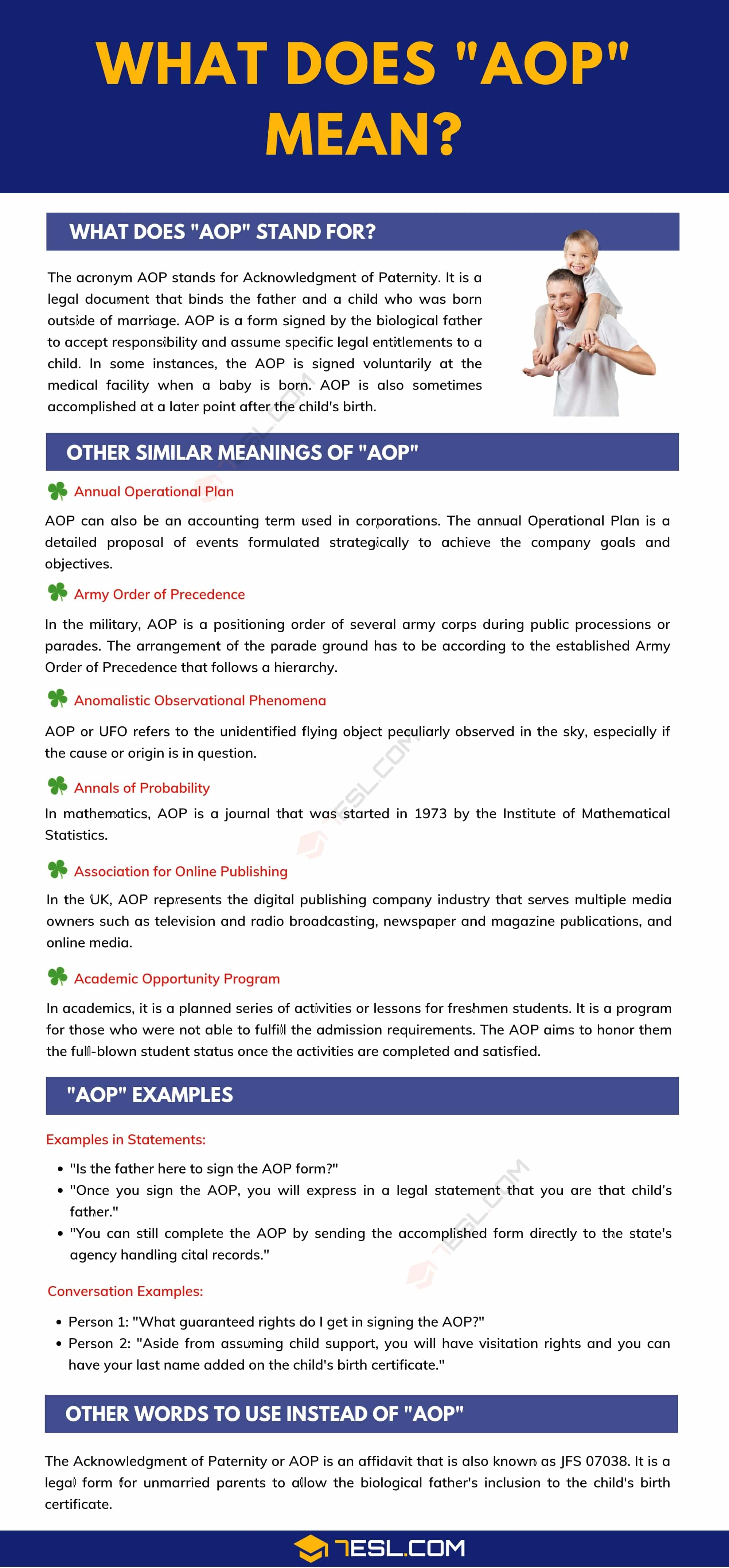 """""""AOP"""" Meaning 