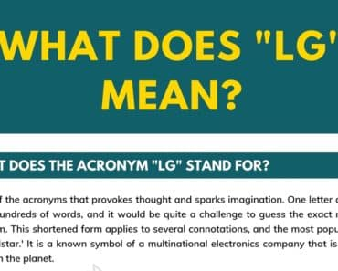 """LG"" Meaning 