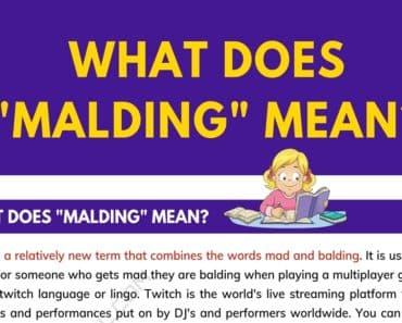 """Malding"" Meaning 