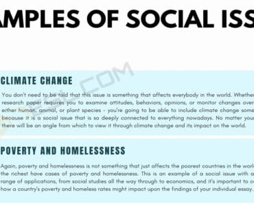 Social Issues: 8 Common Examples of Social Issues for Your Essays 2