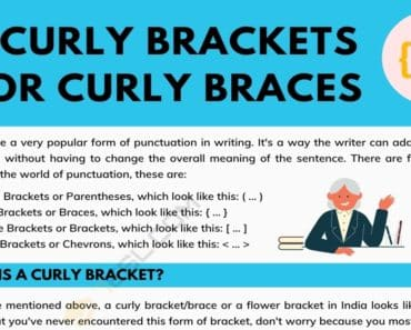 Curly Brackets(Curly Braces) { } A Super Simple Guide 3