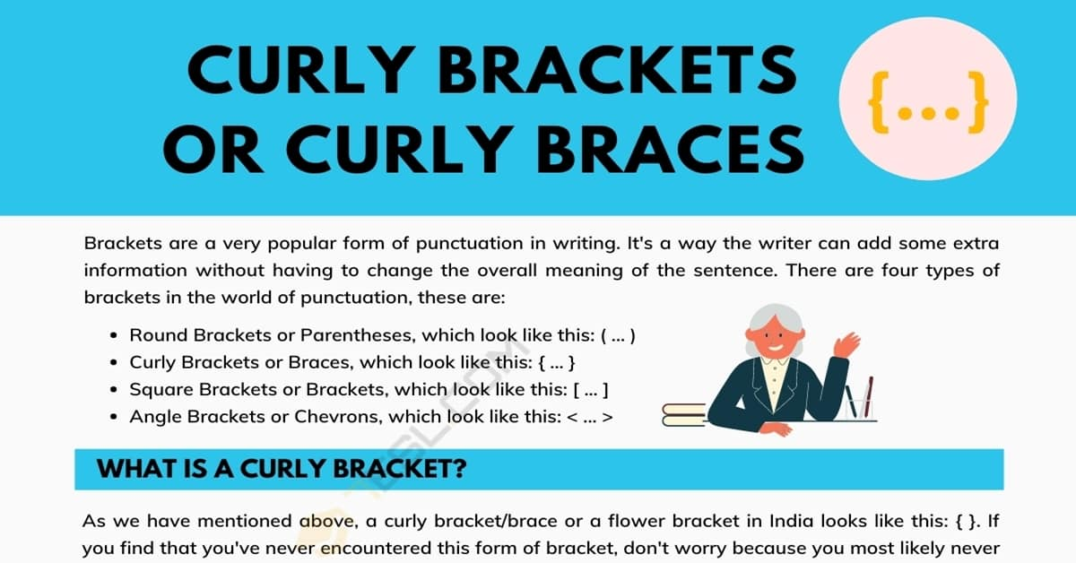 Curly Brackets(Curly Braces) { } A Super Simple Guide 2