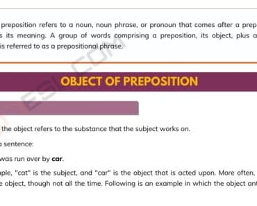 Object of Preposition: the Easiest Way to Get! 5