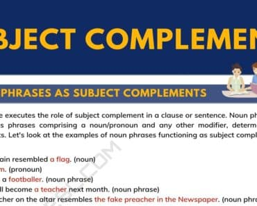 Subject Complement | What is a Subject Complement? with Useful Examples 7