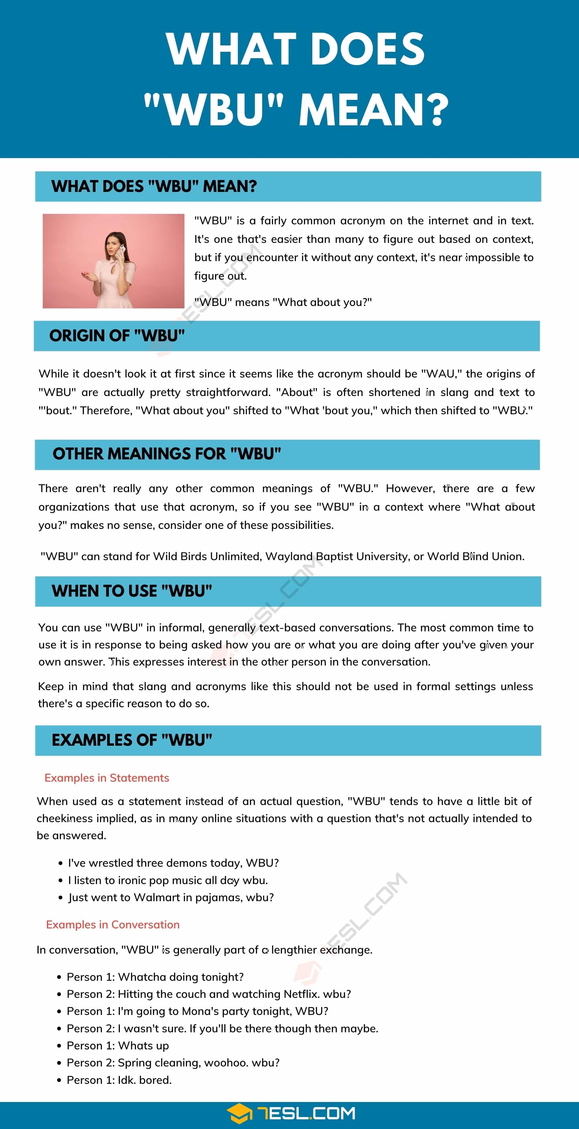 """WBU"" Meaning 