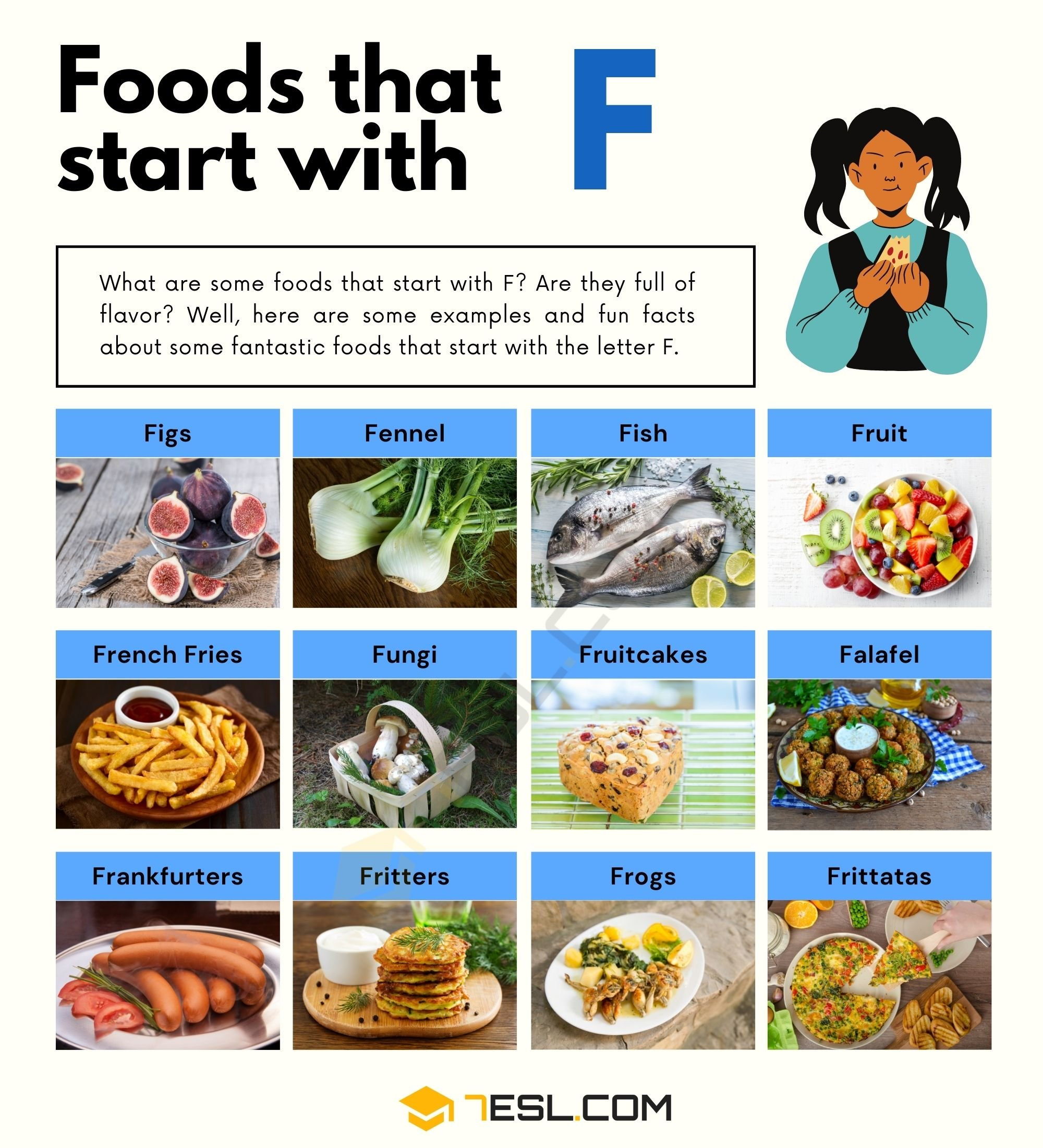 Foods That Start With F