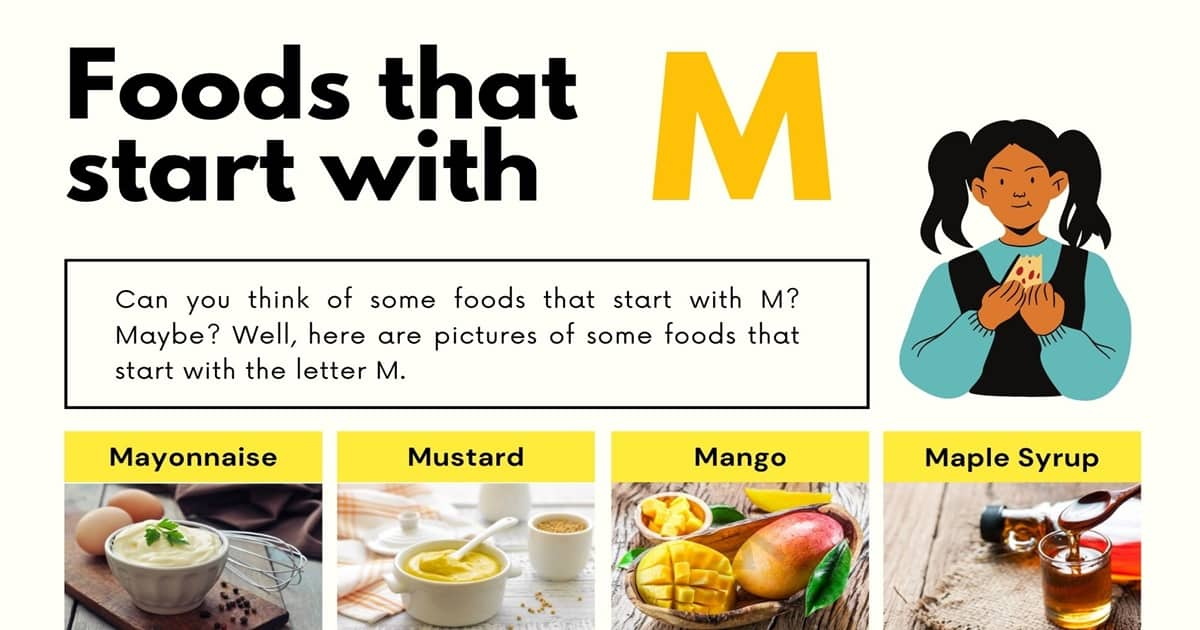 Foods That Start With M