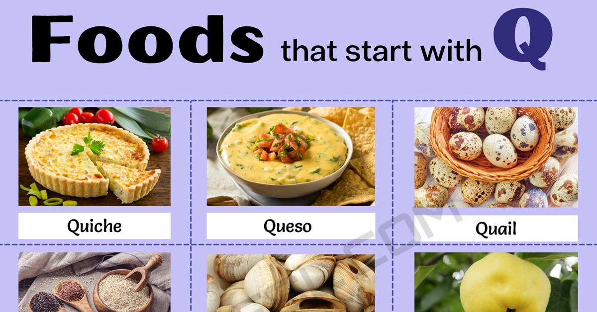 Food that Starts with Q: List of 10 Amazing Foods that Start with Q 1