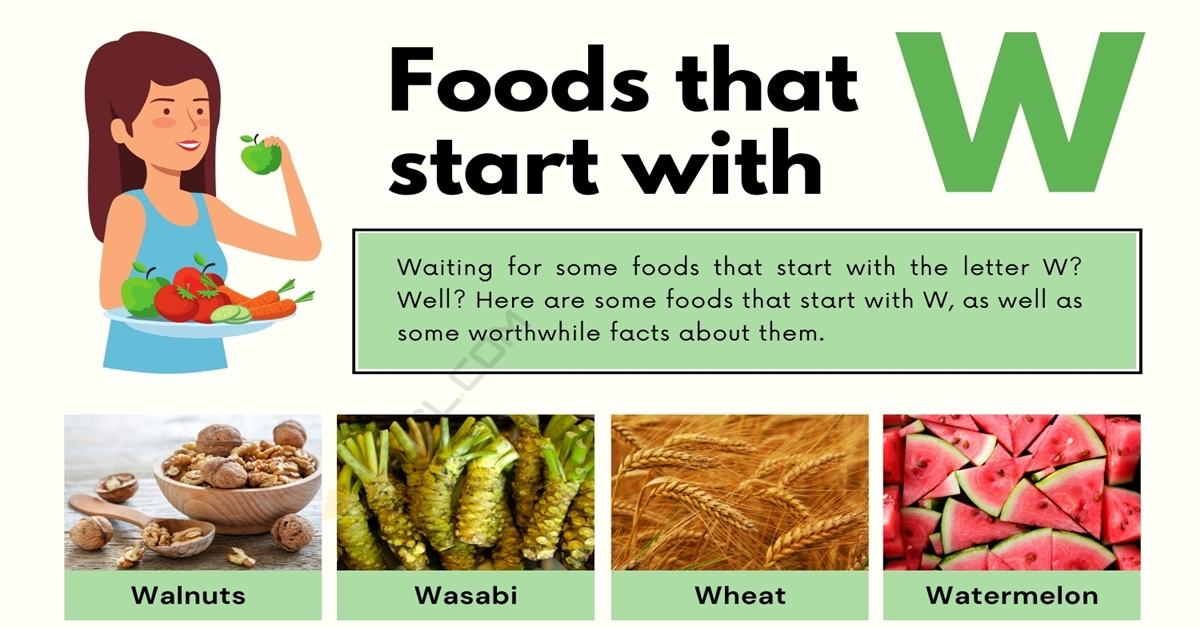 Food that Starts with W: 11 Tasty Foods that Start with W 1
