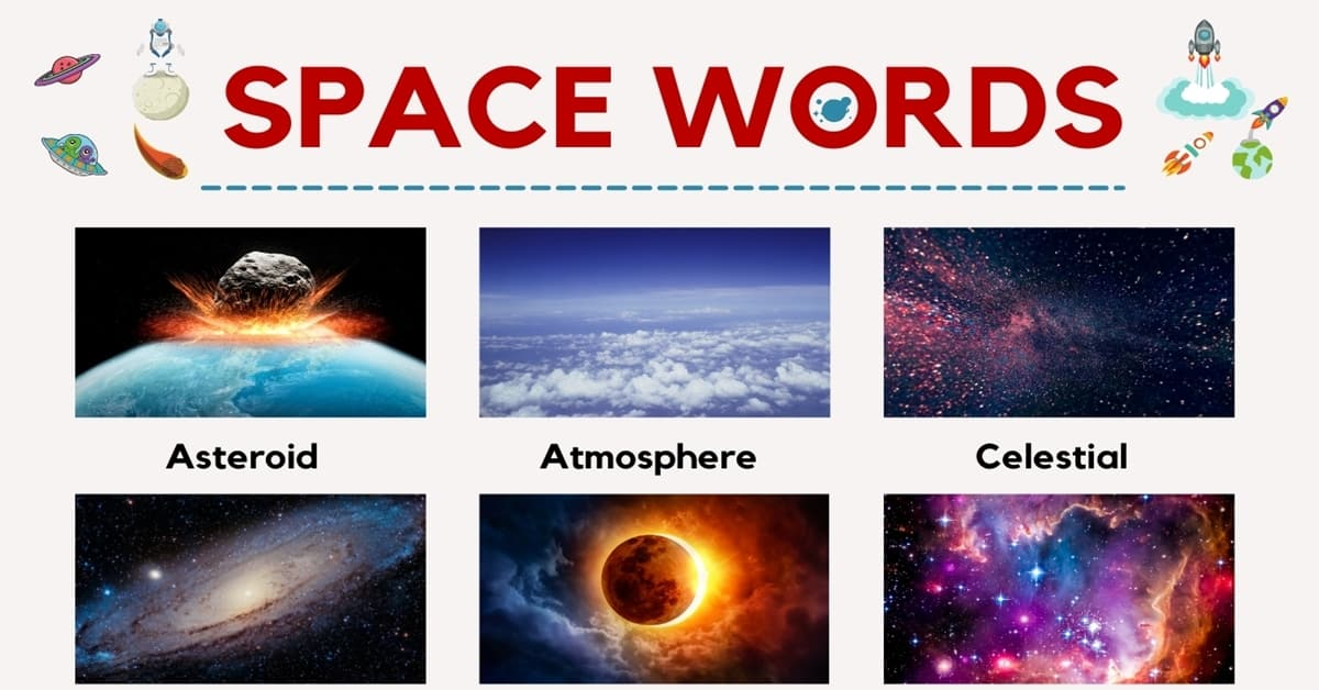 Space Words | List of Interesting Words Related to the Space 1