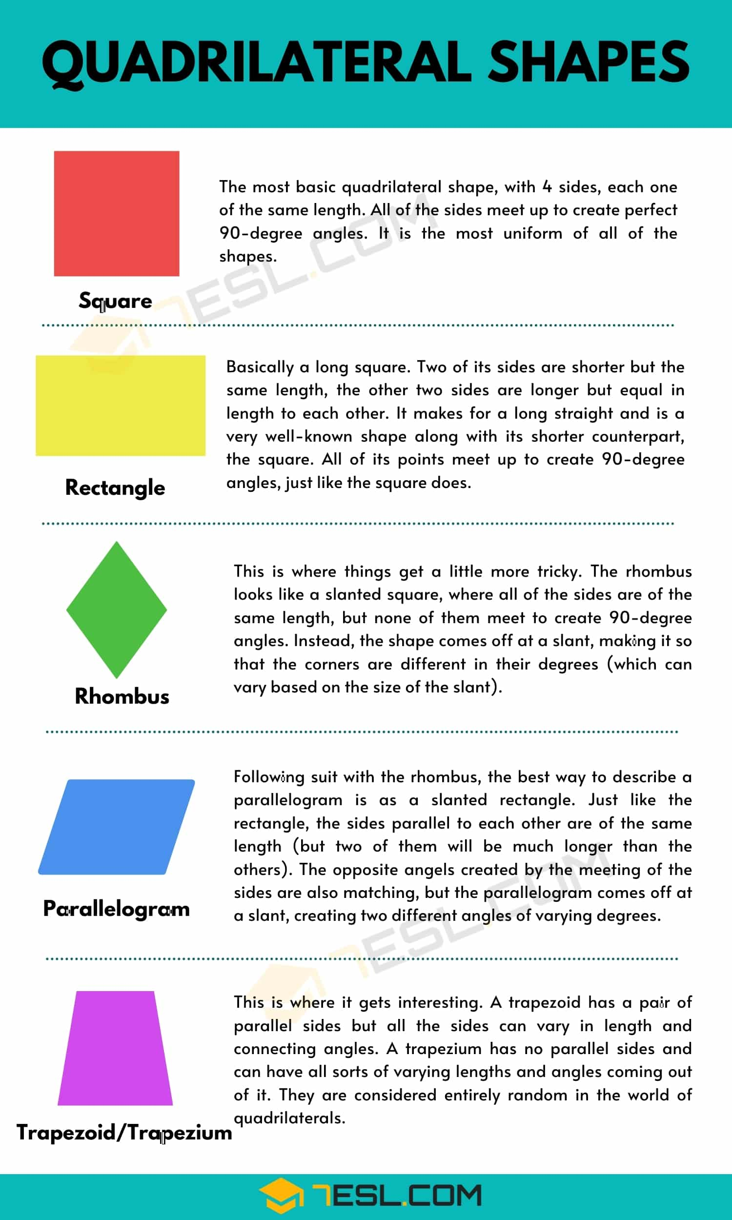 Quadrilateral Shapes