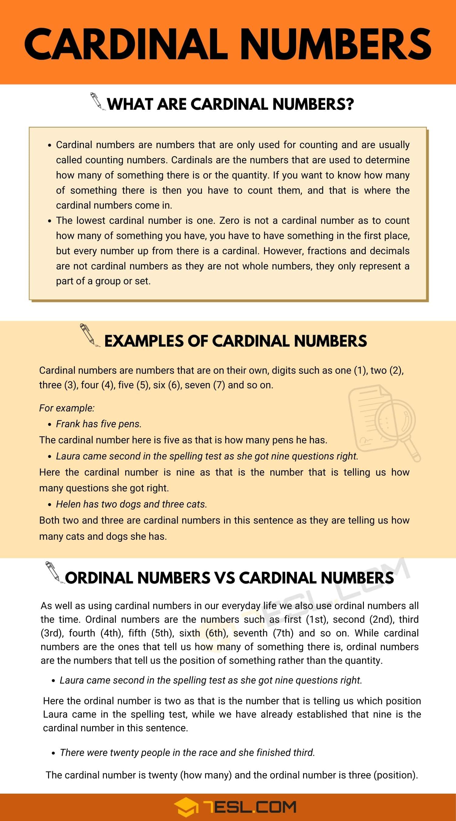 Cardinal Numbers