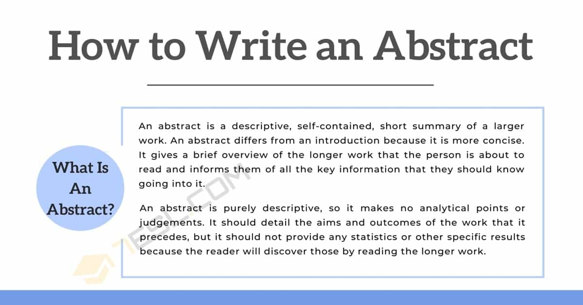 How to Write an Abstract: 6 Simple Steps and Examples 2