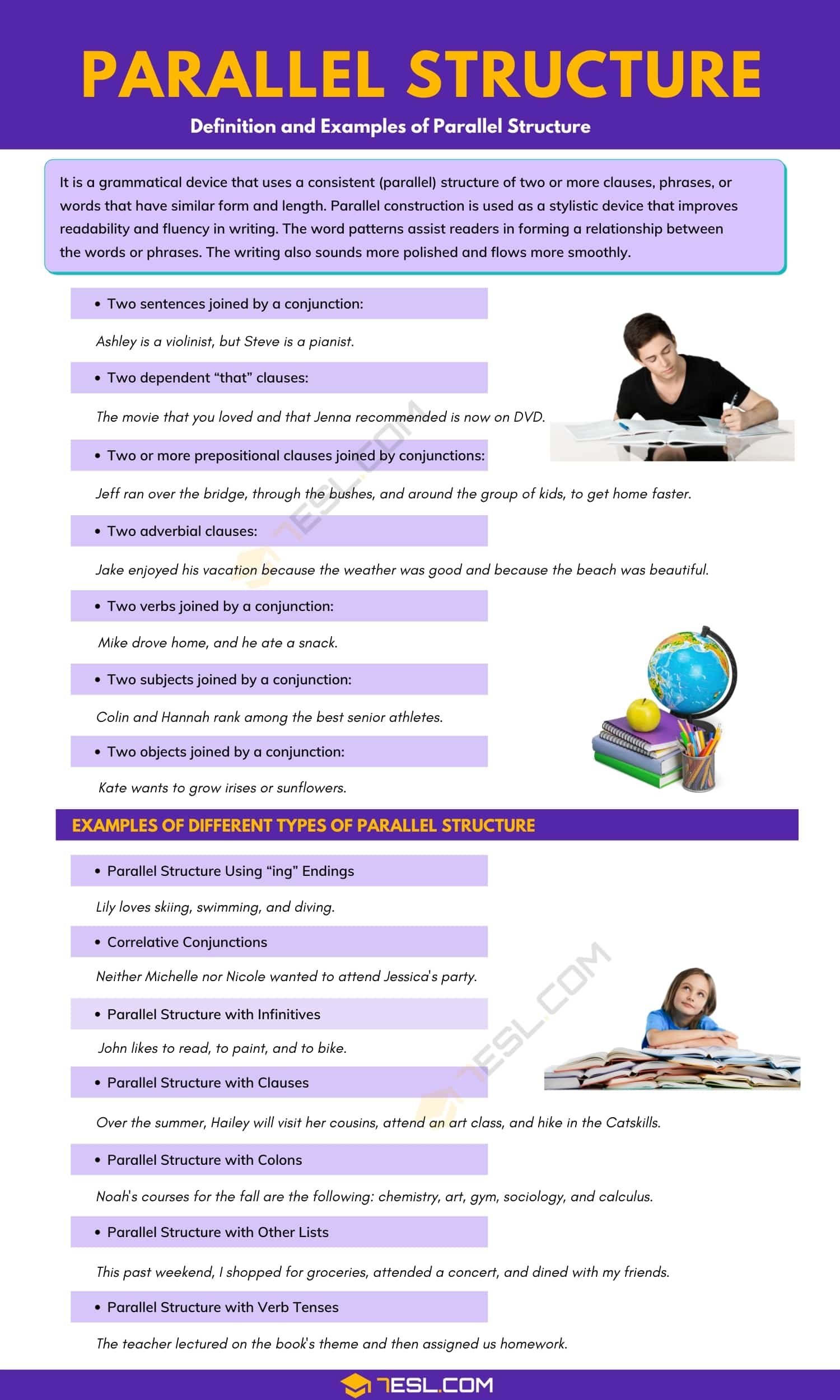 Parallel Structure in Writing | Definition and Examples of Parallel Structure