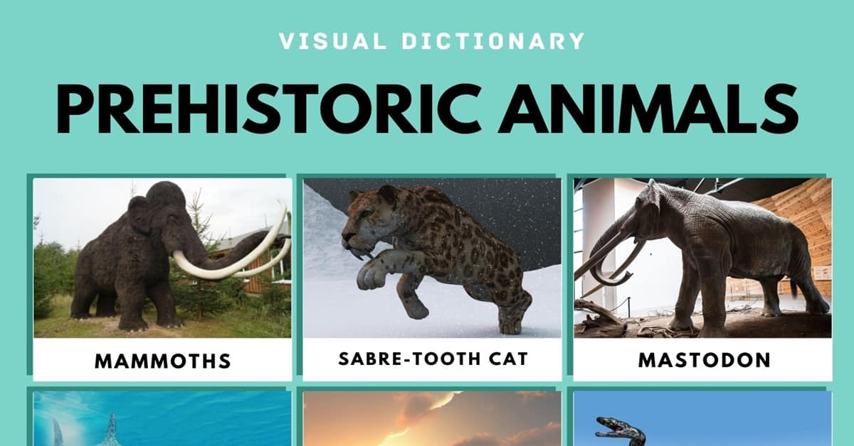 Prehistoric Animals   List of Prehistoric Animals with Useful Facts 1