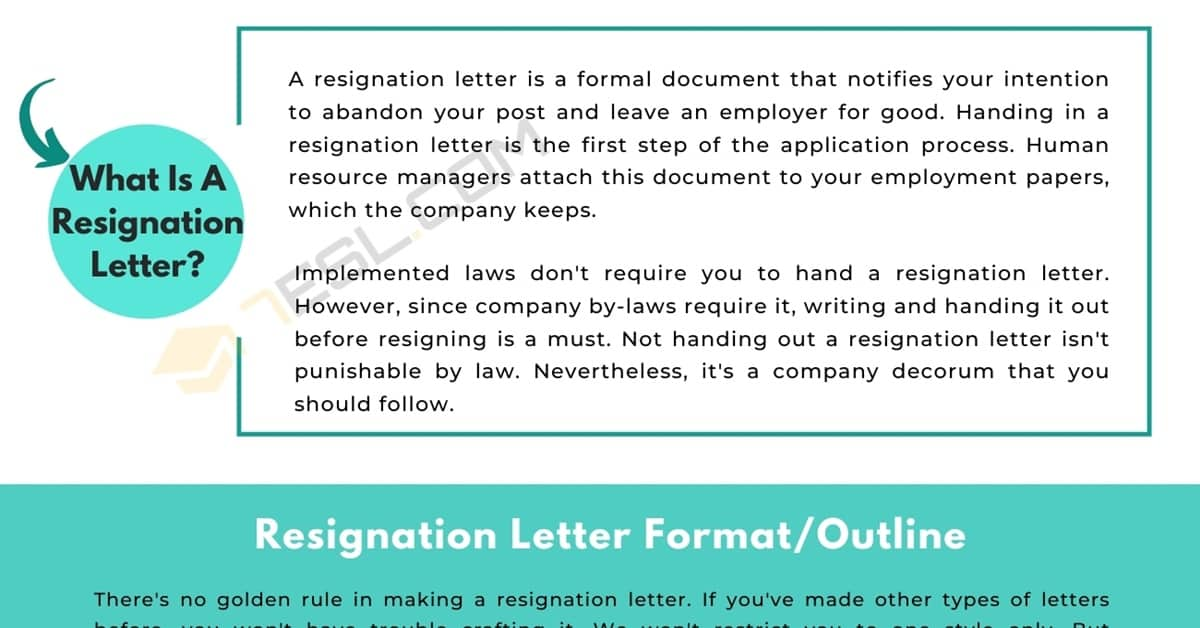 How to Write a Resignation Letter (With an Expert Guide & Sample) 5