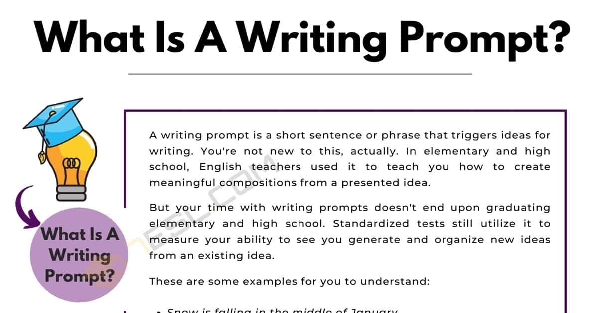 Does A Writing Prompt Make You A Better Writer? 3